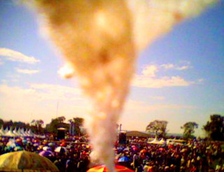 Kisumu, Keenia. 1.1.2013.