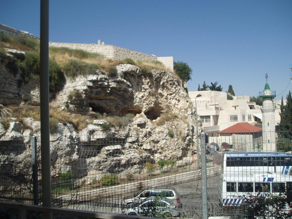 Golgata, Jeruusalemm. Siin suri ristil Jeesus.